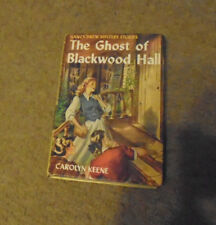 Vintage Nancy Drew Picture Cover The Ghost of Blackwood-Blue end-25 chapters #25