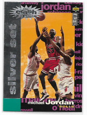 Michael Jordan 1994 1994-1995 Collectors Choice SILVER SET Crash the Game #c1