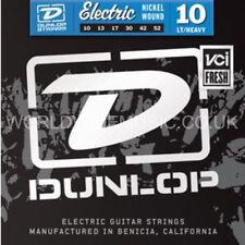 Dunlop Electric Guitar Strings  Light Heavy Gauge .010 - .052 Nickel Wound 10-52