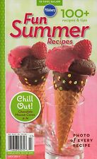 FUN SUMMER RECIPES PILLSBURY COOKBOOK JULY 2007 #315 HALIBUT W/ CHIPOTLE BUTTER