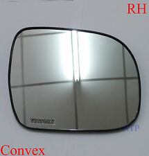 RH RIGHT SIDE WING MIRROR LENS GLASS TOYOTA HILUX 2006 - 2015 WORKMATE KUN26 SR