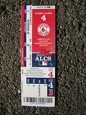 2013 ALCS Boston Red Sox Home Game 4 @ Fenway Park - Pair of Bleacher Tickets