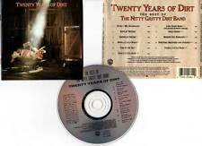 """THE NITTY GRITTY DIRT BAND """"Twenty Years Of Dirt - The Best Of"""" (CD) 1986"""