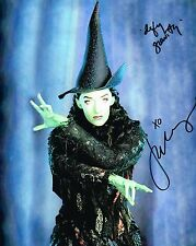 "Julia Murney Wicked SIGNED ""Defy Gravity"" 8x10 Photo Elphaba COA"