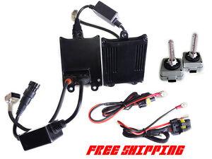 HID Conversion Kit D1S D1R D1C Full AC HID Kit  Super Xenon Real HID brightness