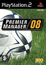 Premier Manager 08 PS2 Playstation 2