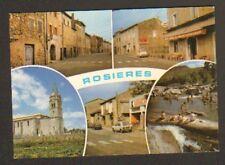 ROSIERES (07) CITROEN 2CV ,VILLAS , HOTEL & COMMERCES