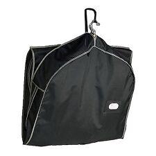 NYLON ZIPPERED Travel Garment Bag CARRY SUITS DRESSES JACKET CLOTHING GARMET USA