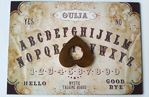 Acrylic Magic Steampunk Mystic Seance Ouija Board & Planchette Ghost Witchcraft