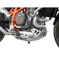 KTM 690 Duke BJ 2012-19 Motorschutz Unterfahrschutz Bugspoiler silber