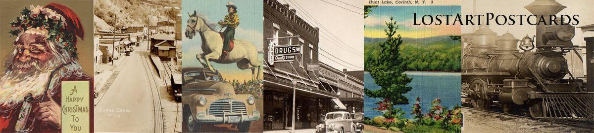 Lost Art Postcards & Photos