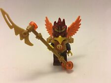 LEGO CHIMA Minifigures FOLTRAX With Weapons  FIRE Vs ICE NEW Minifig 70146