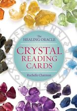 Crystal Reading Cards: The Healing Oracle by Rachelle Charman Deck & Booklet Set