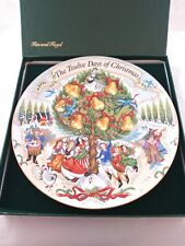 Fitz And Floyd The Twelve 12 Days Of Christmas Collector Plate w/ Box 507/5000