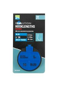 Preston Innovations Revalution N20 Hooklengths 1m (All Sizes) *New 2021*