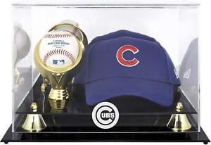 Cubs Acrylic Cap and Baseball Logo Display Case - Fanatics