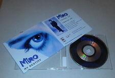 Promo Single CD Miro - My Destiny, Monte Carlo 2.Tracks 2000 MCD M 4