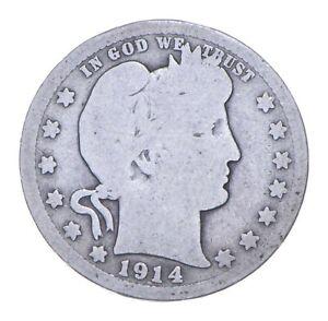 Better 1914 - US Barber 90% Silver Quarter Coin Collection Set Break *911