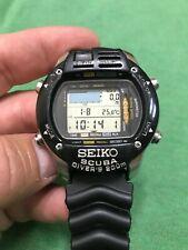 Seiko M796-5A00 200m Computadora De Buceo Scuba Diver's Digital
