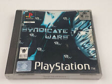 Mint Disc Ps1 Playstation 1 Syndicate Wars Free Postage