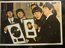 Beatles Diary - Trading Card # 35A - Paul, John, George and Ringo
