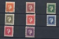 New Zealand QEII 1954 Officials Set To 1/- SGO159-66 VFU JK2189