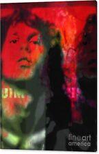Jim Morrison Bloody Reflex Red Pop Art/Malerei/StreetArt/Leinwand/Kunstdruck/XXL