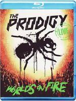 The Prodigy World's On Fire - Live Blu-Ray + CD Set (2011) Nuovo/Sigillato