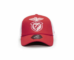 BENFICA SLB MESH-BACKED TRUCKER BASEBALL HAT Fi COLLECTION OFFICIALLY LICENSED