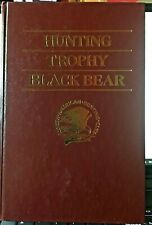North American Hunting Club Hunting Trophy Black Bear Hardcover 1990
