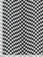 Car Flag Banner Checkered plaid Black C5402 Timeless durable Cotton fabric