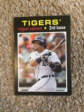 +++ Miguel Cabrera 2013'71 TOPPS Mini Baseball Card #TM-6 - Detroit Tigers +++