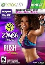 Zumba Fitness Rush Xbox 360 New Xbox 360, Xbox 360