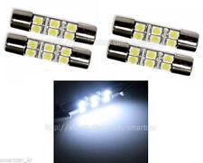 4pcs LED Vanity Mirror Light Bulb for 2009 2010 2011 2012 2013 2014 Acura TSX