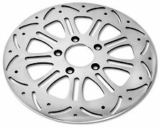 "DNA ""ENVY"" FRONT 11.8"" POLISHED BRAKE ROTOR HARLEY"