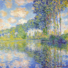 LANDSCAPE ART PRINT - Poplars on the Epte, 1891 Claude Monet Poster OUT OF PRINT