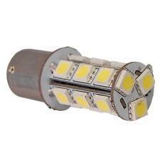 HQRP Bombilla BA15 18-SMD LED, luz blanca natural para 1156, 1141 luces de freno