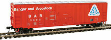 Walthers HO Scale 50' ACF Exterior Post Boxcar Bangor & Aroostook/BAR #5602