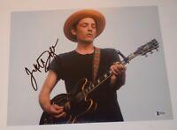 Jakob Dylan Signed Autograph 11x14 Photo The Wallflowers Beckett BAS COA