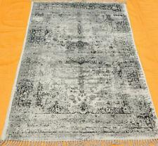 Kilim Area Rugs Antique Tribal Flat Weave Kilim Dhurrie 4' X 6' Block Print Rug