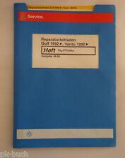 Werkstatthandbuch VW Golf 3 III / Vento CitySTROMer 06/1996