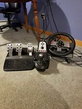 Logitech G27 Racing Wheel For PS4, XBONE, and PC. Pedals, Wheel, & Shifter!
