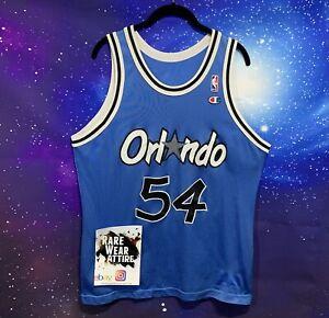Size 40 Champion NBA Orlando Magic #1 Horace Grant Jersey VTG