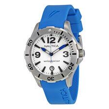 Cinturino Originale Gomma Nautica A11549M azzurro con Fibbia
