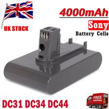 4000mAh 22.2V Li-ion Battery For Dyson Type A DC31 DC34 DC35 DC44 DC45 Animal UK