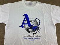 Ebbets Field Flannels Liga de Baseball Cubana Almendares Alacranes Scorpions