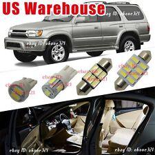 14-pc Luxury White LED Interior Light Package Kit For 1996-2002 Toyota 4Runner
