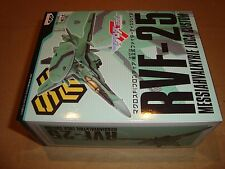 MACROSS FRONTIER FIGHTER DISPLAY RVF-25 MESSIAH VALKYRIE LUCA CUSTOM BANPRESTO