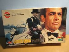 Airfix JAMES BOND & ODD JOB Model KiT 1:12 Scale - 1998 #04402
