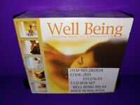 Well Being Relaxing Music For A Balanced Life 5-Disc CD Box Set Brand New B499